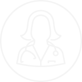 Outlined Drawing of a Nurse