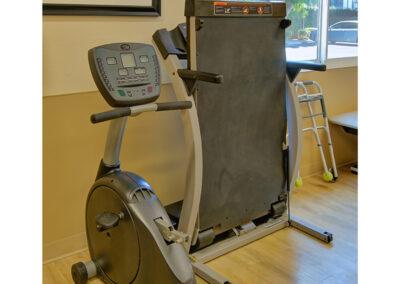 Rehabilitation exercise machines.