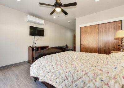 Quiescence Care home private bedroom