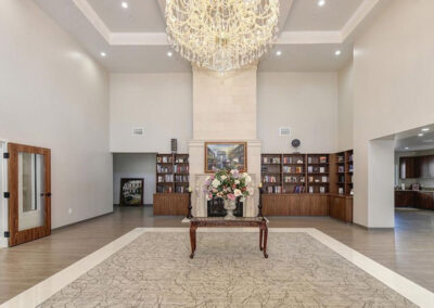 Quiescence Care front lobby