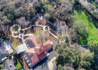 Quiescence Care home aerial view